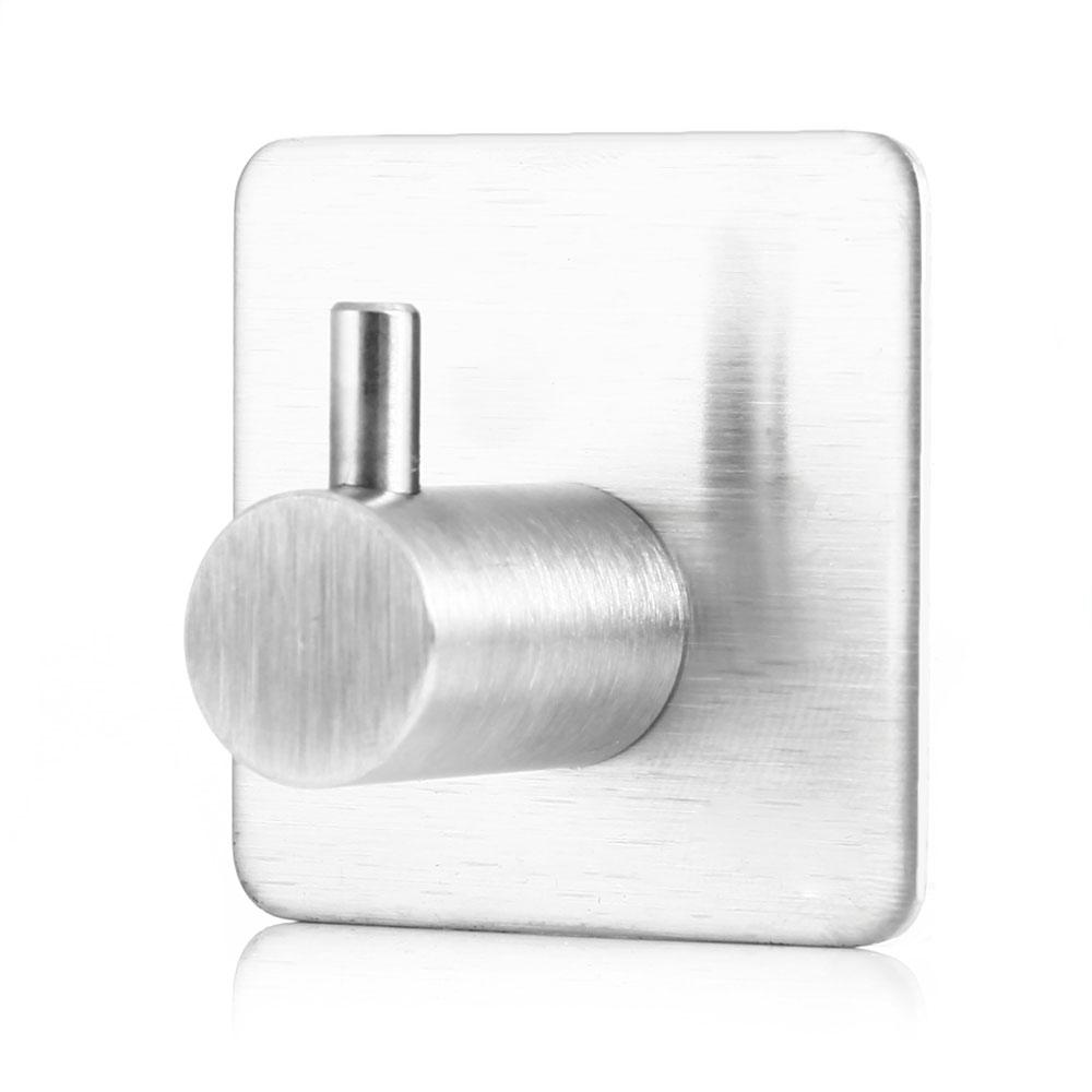 bao de montaje en pared percha adhesiva moderna de acero inoxidable de alta resistencia ganchos para