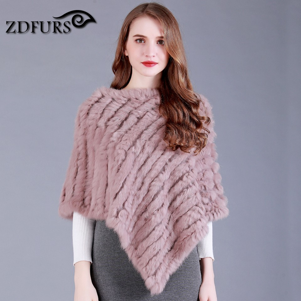 ZDFURS * Genuine Real Women popular Fur s