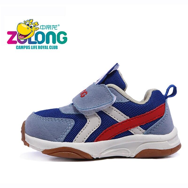 Dziecięce buty na 1-4 rok Air Mesh Oddychająca haczyk i pętla Moda - Obuwie dziecięce - Zdjęcie 4