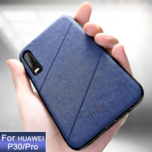 P30 Case cover Mofi original for huawei p30 pro business case soft edge back fundas fitted