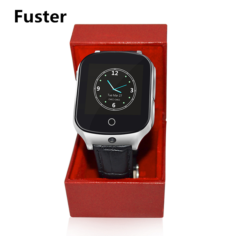 Fuster A19 GPS Smart Watch with SOS Call for Children and Old Man Security Wacth Trace Record 3G WCDMA Location Watch Clock wireless service call bell system popular in restaurant ce passed 433 92mhz full equipment watch pager 1 watch 7 call button