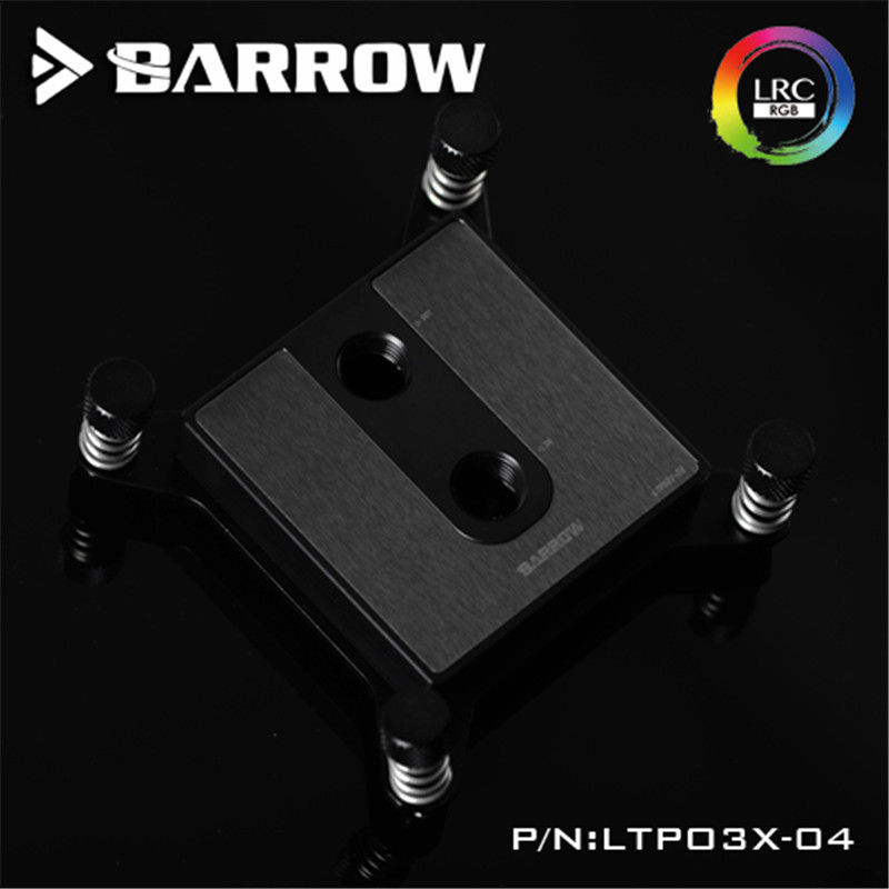 Barrow Water Cooling Radiator For Intel X99 Special Edition CPU Water Block POM barrow ltyk3x 04 v2 lrc2 0 rgb cpu water cooling block for intel x99