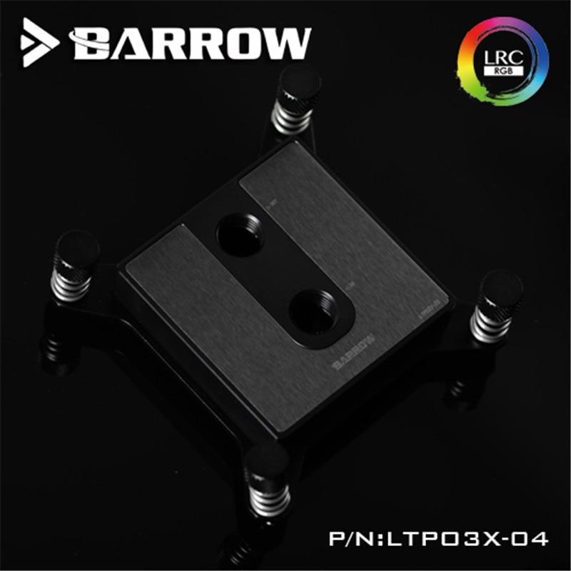 купить Barrow Water Cooling Radiator For Intel X99 Special Edition CPU Water Block POM по цене 1842.05 рублей