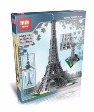 2016 LEPIN 17002 3478Pcs The Eiffel Tower Model Building Kits Minifigure Blocks Bricks Compatible Children Toys Gift With 10181
