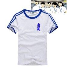 Captain Tsubasa Jersey Fußball Anzug Uniform Quick dry stoff Kind Erwachsene größe Cosplay Kostüm baumwolle T shirt