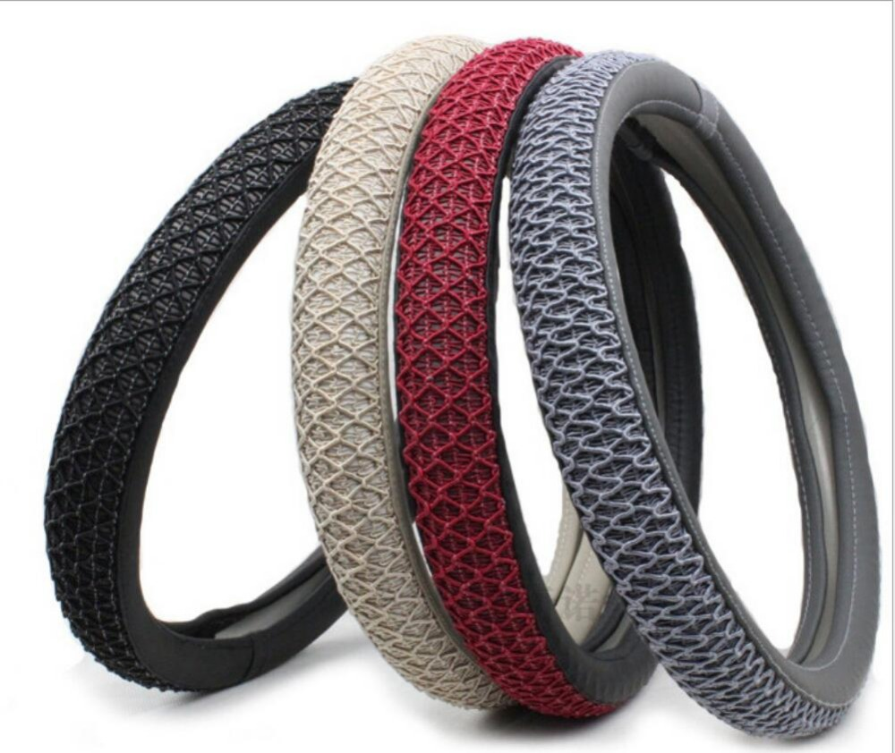 New Style car steering wheel cover All year can use sport Car Auto steering wheel Diameter 38 cm 4 color to chose styling