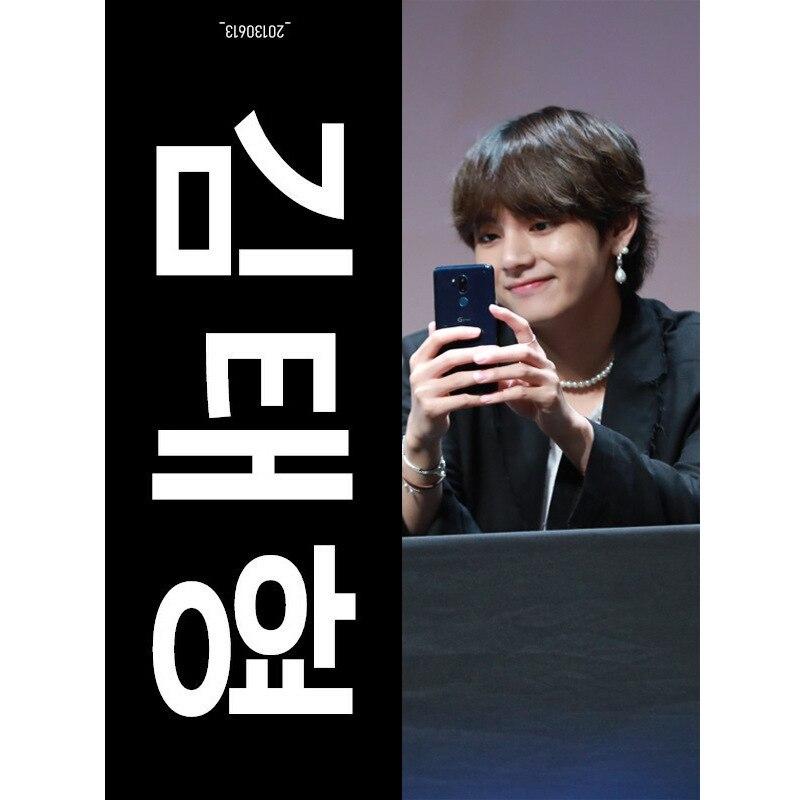 Hotsale angepasst doppelseitige wildleder reflektierende jubeln Koreanische superstar tuch faser kpop slogan handtuch MOQ 1pc