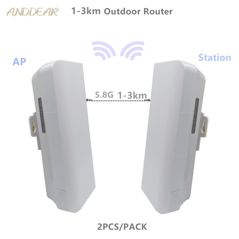 9344 9331 206 1-3km Chipset WIFI Router WIFI Repeater CPE Long Range 300Mbps5.8GOutdoor AP Router Bridge Client Router Repeater