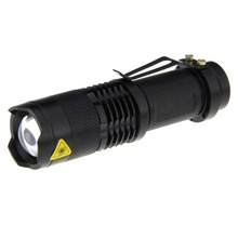 3 Files Classic Color Aluminum Flashlight 320 Lumens No Memory Mode Zoom Lighting Camping Hunting Five-Color