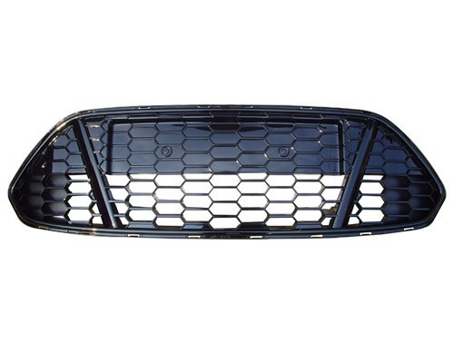 1 Piece Front bumper lower mesh grille grill grid insert honeycomb for Ford Mondeo 2011-2012 for 10 14 vw golf tdi jetta mk6 honeycomb mesh lower front grille grill abs usa domestic free shipping hot selling