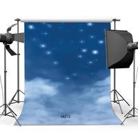 5x7ft Fotografia Fundo Gliter Starry Night Sky Bokh Sem Costura Bebê Recém-nascido Crianças Retratos Fundo