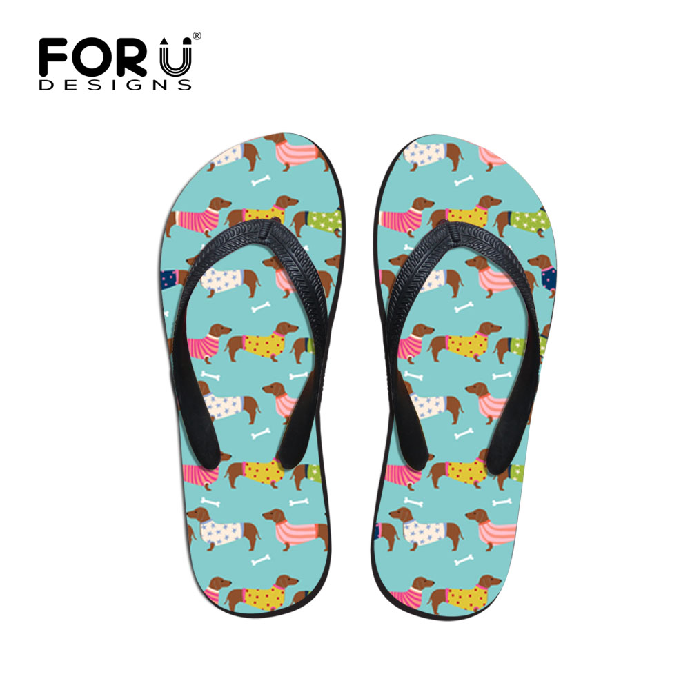 Official Website Forudesigns Cartoon Dolphin Print Mens Flip Flops Summer Beach Slippers Male Flat Anti-slip House Flipflops Zapatos De Hombre Other