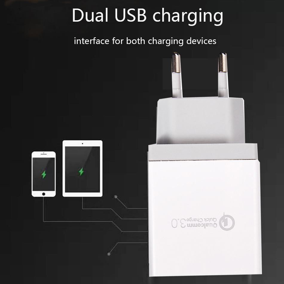 Fiuzd USB Charger for Huawei P10Huaweimax mate 20X P20 P10 Pro lite Nova 4e  Fast Phone Charger for  iPhone Xs X 8 7 Tablet 4 Port Desktop QC 3.0 Charger12