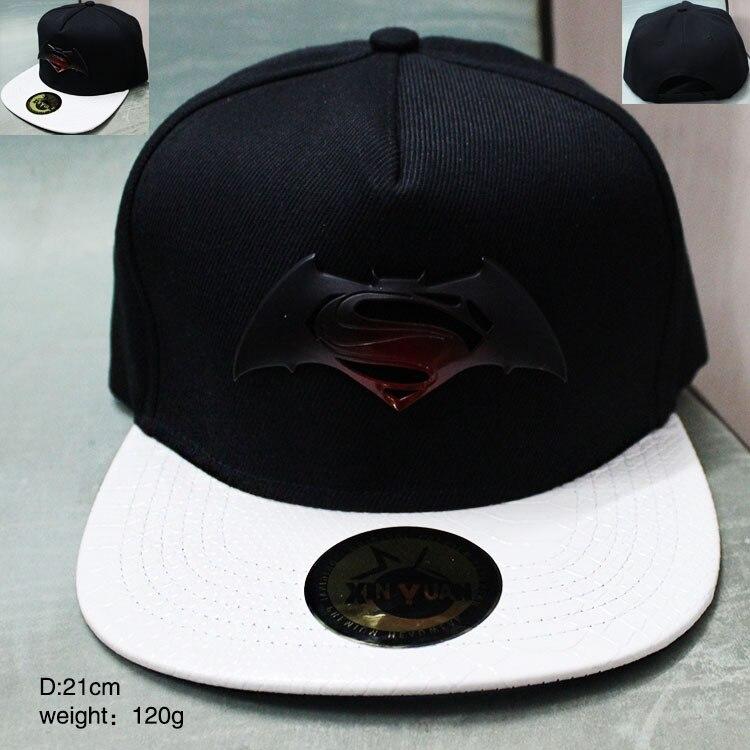2017 película periféricos Batman v Superman gorra de béisbol negro ... d2d7a95faf8