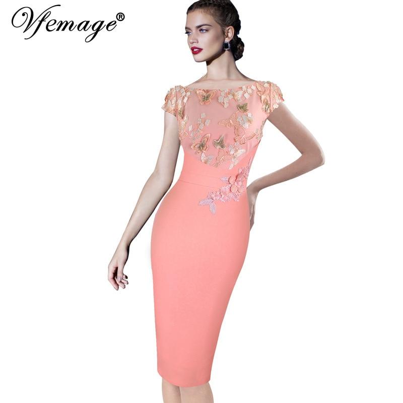 Женское платье Vfemage 3997