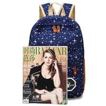2016 Hot Sale Canvas Women backpack Big Capacity School Bags For Teenagers Printing Backpacks For Girls Mochila Escolar APB02