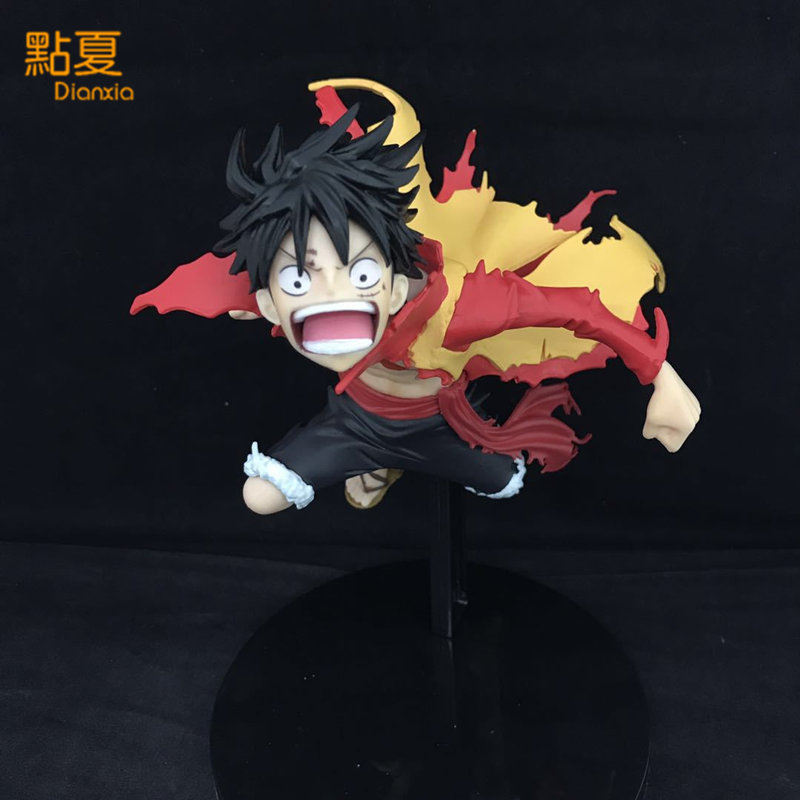 DIANXIA 1PCS Anime One Piece Luffy Action Figure Toy SC Modeling King Top Battle Box size:15*14*20cm With Box new hot 18cm one piece donquixote doflamingo action figure toys doll collection christmas gift with box minge3
