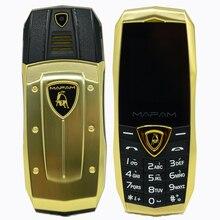 Mampa A18 russe arabe espagnol français Vibration de luxe en métal corps voiture logo double sim gsm chine téléphone Mobile en stock