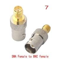 sma נקבה אנטנה 1 סט 18dbi 2.4G WIFI אנטנה SMA זכר Booster + SMA נקבה כדי CRC9 ts9 מתאם N F BNC TNC טלוויזיה זכר נקבה (5)