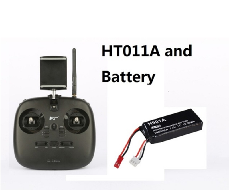 Original HT011A Transmitter with battery For Hubsan H501A H501M H216A H507A QuadCopter Remote Controller HT011A 1km