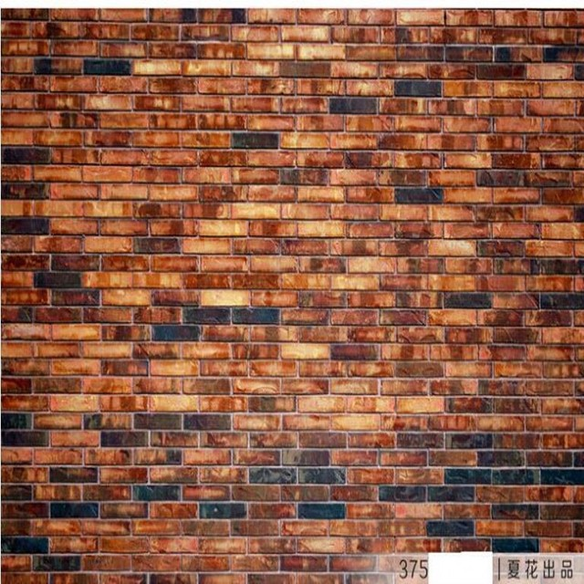 Beibehang Custom Large Scale Murals Retro Ancient Red Brick Wall Culture Background Environmental Wallpaper
