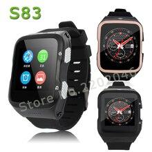 ZGPAX S83 smartwatch 3G Bluetooth Smart Uhr Android 5.1 unterstützung SIM GPS Wifi HD Kamera Smartwatch für Android iOS Telefon uhr