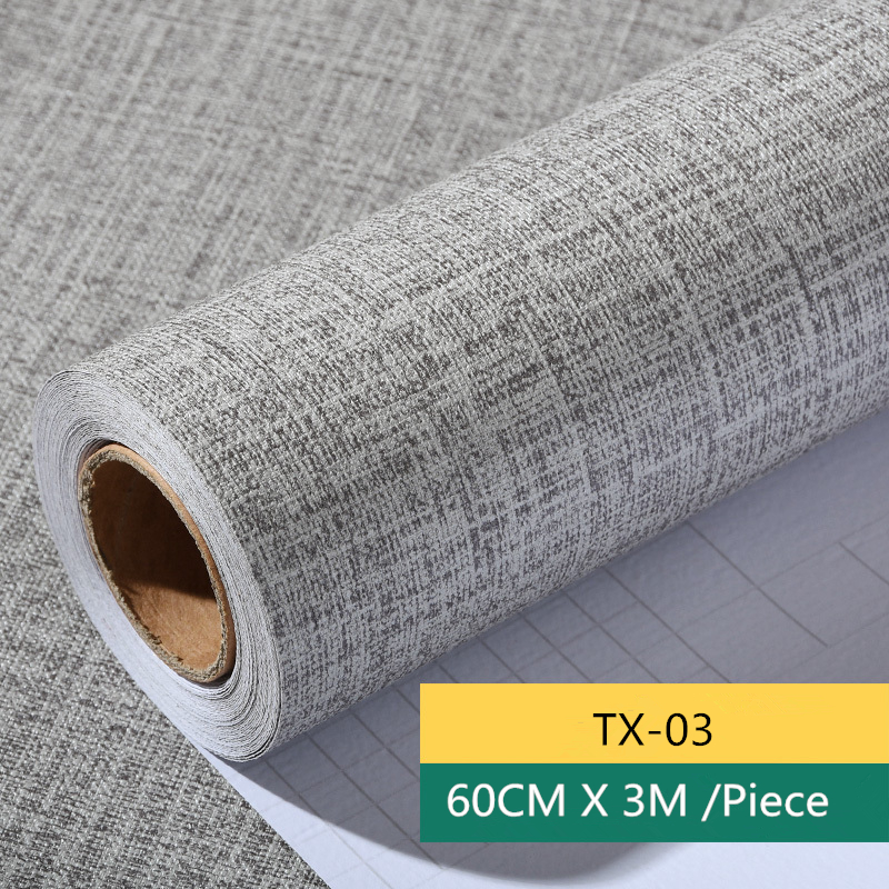 Modern Self-adhesive Paper Simple Pure Color Embossed  Wallpaper 3D Wallpaper For Walls Living Room Tv Background Covering 60 50mm 2000 sheets per roll single row thermal transfer adhesive paper can customize use sticker printer empty shipping label