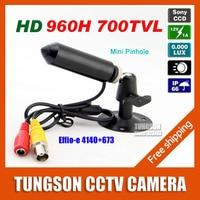 Sony 960H CCD Effio Pinhole 3 7mm Lens 700TVL Micro Video Surveillance Cam Small Bullet Mini