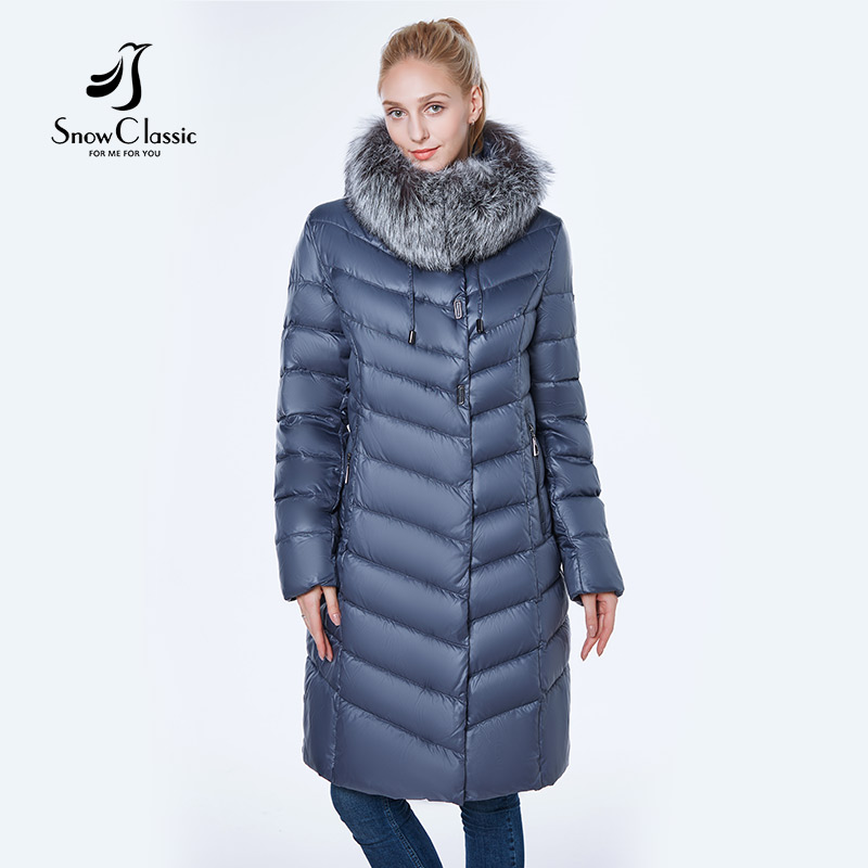 La Nouvelle veste femmes camperas mujer abrigo invierno 2018 manteau femmes parc grande taille 6xl Argent renard de fourrure Coupe-Vent épais