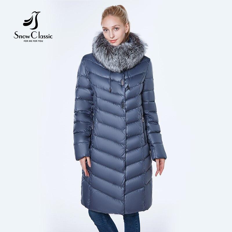 La Nouvelle veste femmes camperas mujer abrigo invierno 2018 manteau femmes parc plus taille 6xl Argent renard de fourrure Coupe-Vent épais