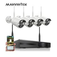 Security Camera System Wireless 8CH NVR Kit 720P Outdoor Waterproof IP Camera Wifi Video Surveillance Set 4CH CCTV Camera System
