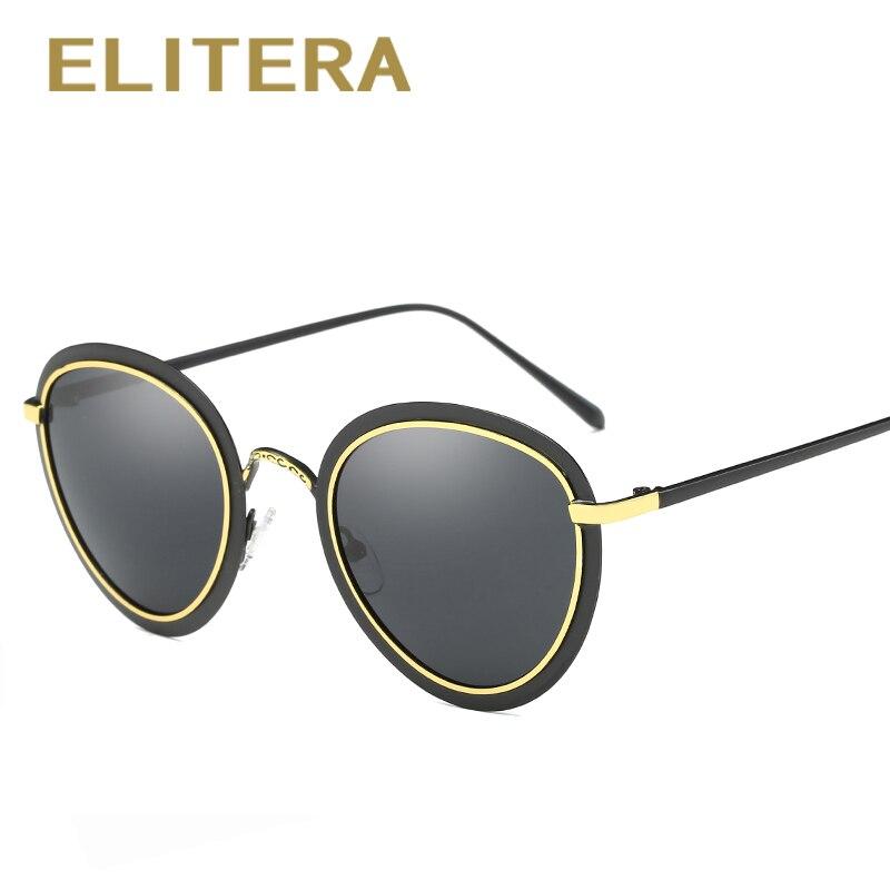 ⓪Elitera 2018 модные женские туфли кошачий глаз Солнцезащитные очки ... ceeea773bad