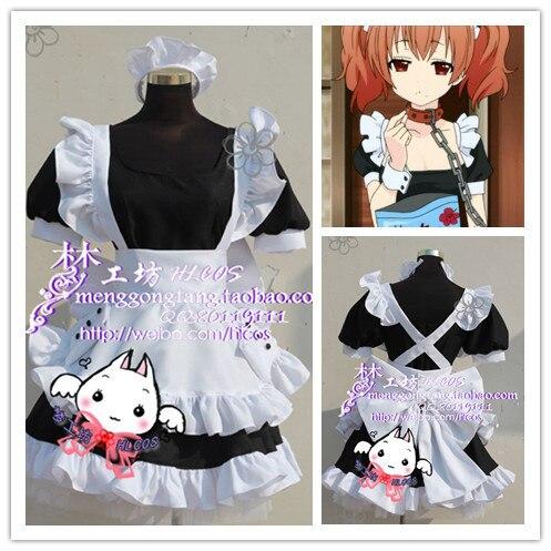 Inu x Boku SS Roromiya Karuta Maid Cosplay Disfraces Cosplay Anime Cosplay