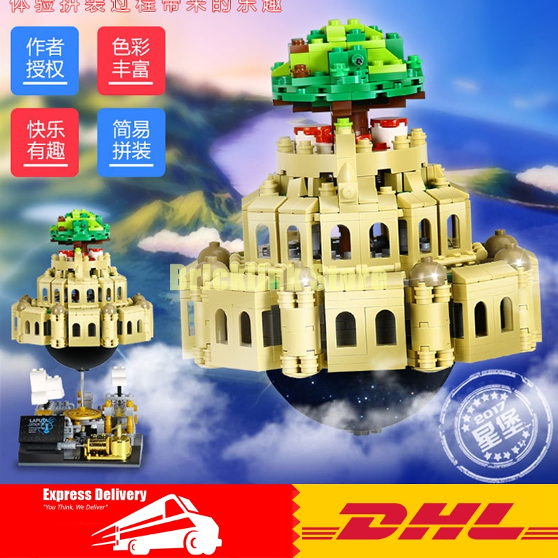 Здесь продается  XingBao 05001 Block 1179Pcs Genuine Creative MOC Series The City in The Sky Set Educational Building Blocks Bricks Model  Игрушки и Хобби