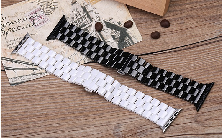 Newest Ceramic Wristband For Apple Watch Band 38 42mm 40mm 44mm Bracelet Band For Iwatch Strap Series 5 4 3 2 1