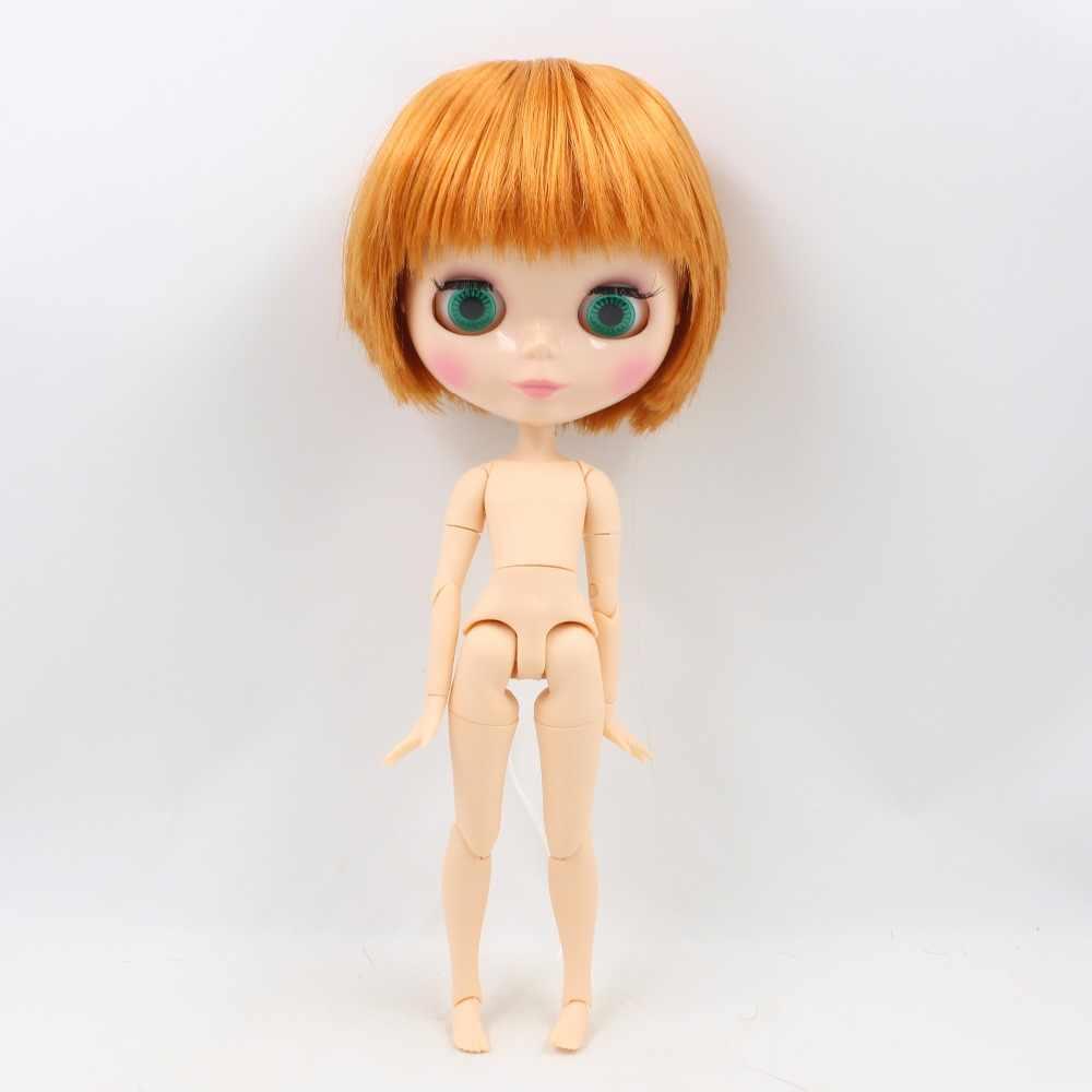 Фабрика Блит куклы 1/6 bjd мальчик тела BL0145 orange короткие волосы jojnt совместный 1/6 30 см натуральная кожа