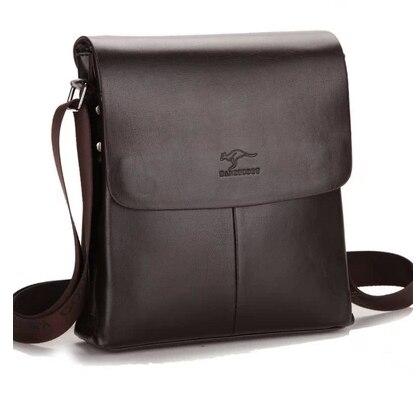 2016 nuevo hombre bolsa de mensajero de los hombres de los hombres comerciales de cuero vertical maletín bolsos de diseño de alta calidad bolsos de hombro