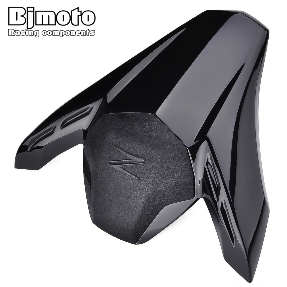 BJMOTO Motocross Z 900 Seat Cowl with Rubber Pad for Kawasaki Z900 2017 Rear Tail Cover Moto Motorcycle Parts