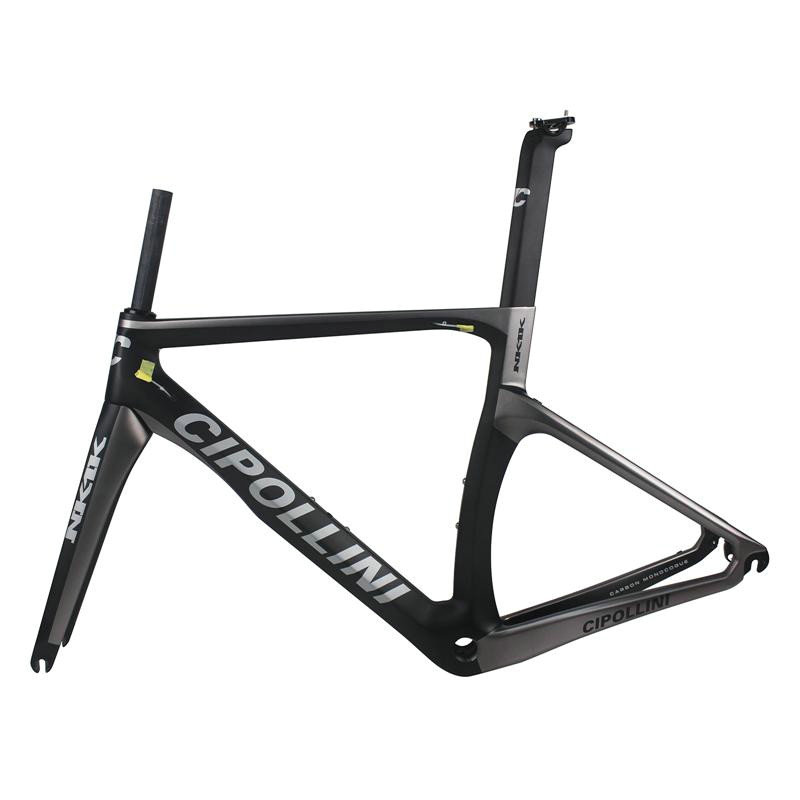 2018 best quality NK1K racing carbon frame 1k carbon road bike frame T1100 with bb right road bicycle cipollini carbon frameset track frame fixed gear frame bsa carbon 1 1 2to 1 1 8 bike frameset with fork seatpost road carbon frames fixed gear frameset