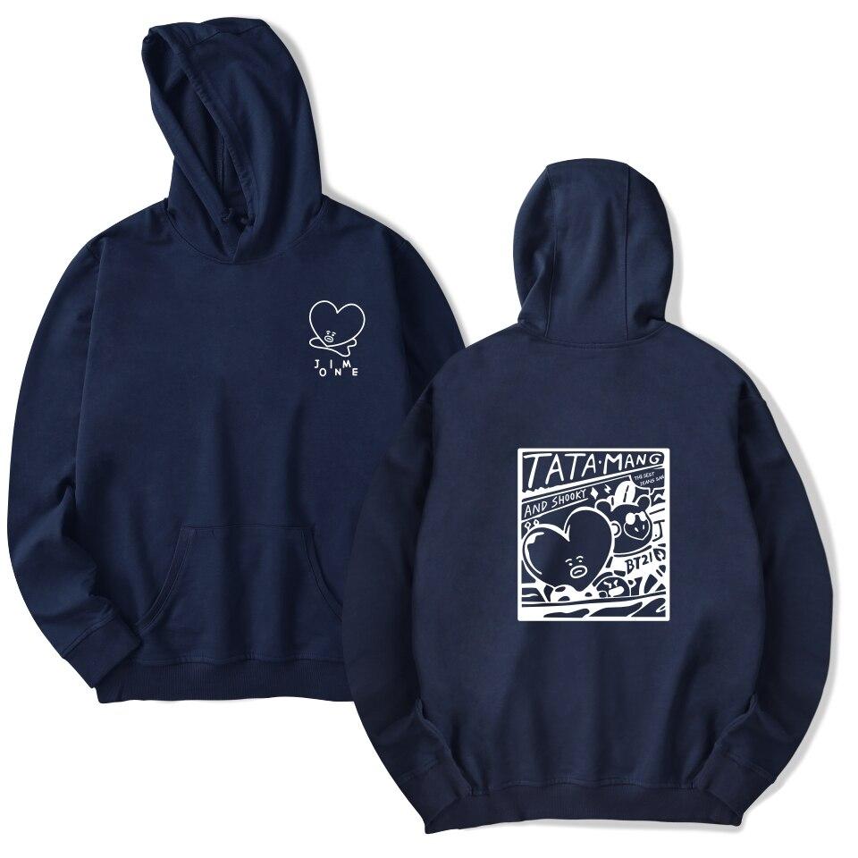 BTS Bulletproof boy group Hooded Sweatshirt Men Hoodie Winter Hoodies Casual Fashion k-pop hoodies bangtan boys bts 4XL Clothes
