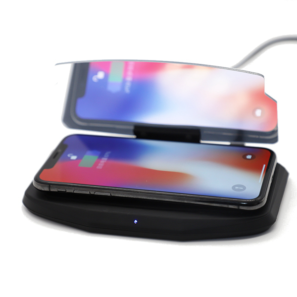 High Quality Bakeey Qi Wireless Fast Charger Car HUD Holder Head Up Display Projector Bracket For iPhone- X S9+