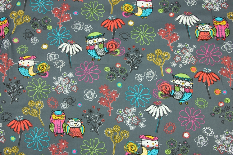 Multicolor Charming Butterfly on Pure Red 100/% Cotton Fabric ~ By half meter