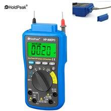 HoldPeak HP-90epc Multimetro Digital USB Multimeter DMM Auto Range Tester LCD Ammeter Capacitance Meter PC Data Transmission