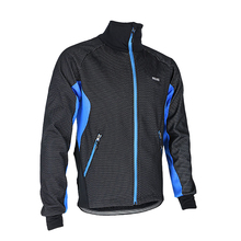 Thermal Cycling Jacket Winter Warm Up Fleece Bicycle Clothing Windproof Waterproof Sports Coat MTB Bike Jersey Size M To XXXL