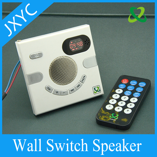 US $44 68 |Smart Wall Socket, Multi functional Home Audio,USB Charging  Jack,FM Radio Household Outletmemory Card Player Headphone Receivers-in