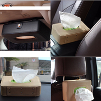 Universal Car Sun Visor Tissue Box Holder Type Car Accessories Home Office Hotel Case Napkin Paper