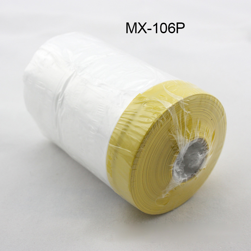 Image 2 - 0.55mx30m/Roll PVC Cover Sheet Clear Automotive Paint Plasti Dip Spray Rubber Paint Dust Protection Masking Film MO 106P-in Car Stickers from Automobiles & Motorcycles