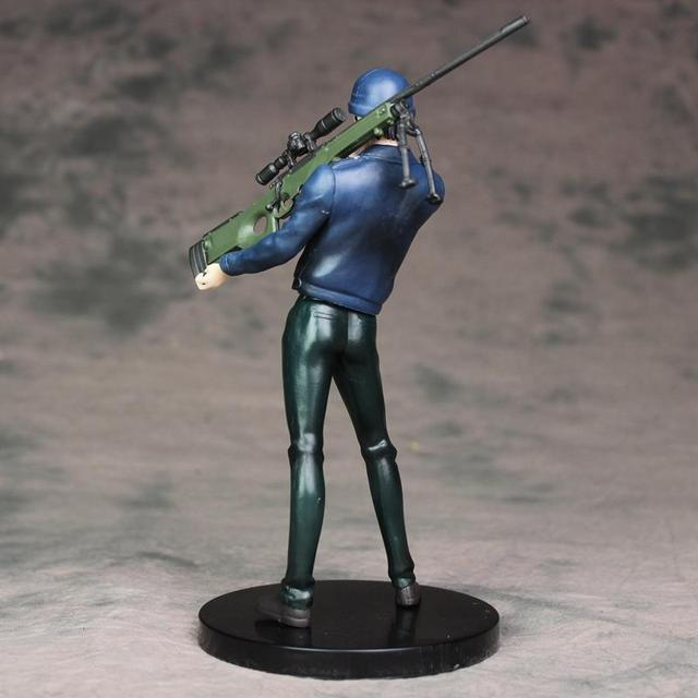 Detective Conan Anime Shuichi Akai Rye Sniper Rifle Action Figure Version PVC Hot Collectible Model Toy 18cm Gift XYC