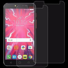 2 PCS / 1 Piece 0.26mm 9H 2.5D Tempered Glass Film for Alcatel Pixi 4 5.5 inch Screen Protector(China)