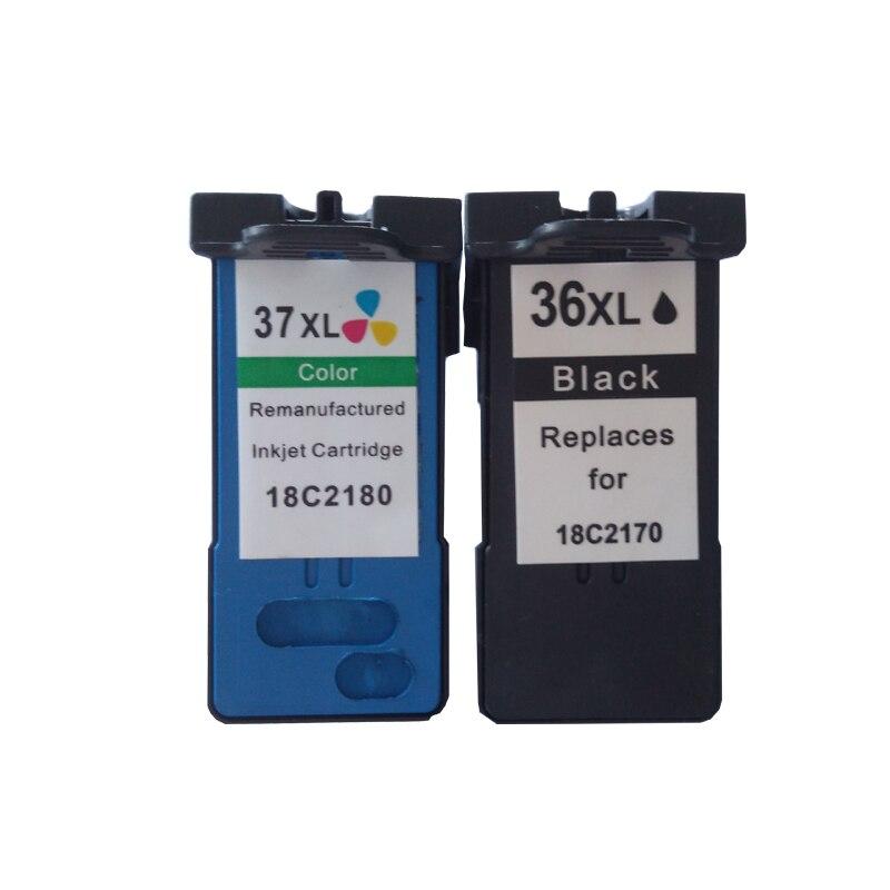 2pk 36xl 37xl tintenpatrone für lexmark 36 37 tintenpatrone für lexmark z2400...